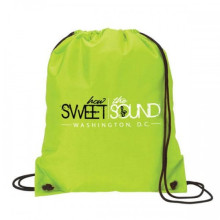 Accept customised print  factory hot sale  210D Polyester material  Draw string Bag