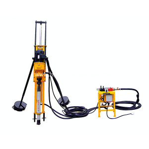 High Efficiency Borehole Drilling Rig Machine