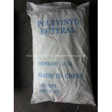 Poudre blanche Pvb Résine Polyvinyl Butyral Résine