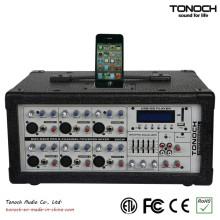 300 Watt RMS 6-Kanal PRO Audio Powered Sound Konsole Schreibtisch