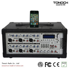 Tonoch 6 Kanal Power Box Mischpult
