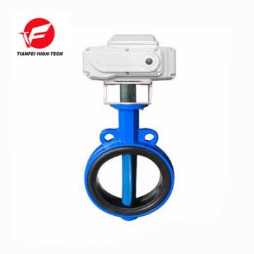 12v 24v 220v 4-20ma vanne de régulation de débit d'eau motorisée