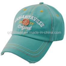 Проблемные вымытые бейсбольные кепки вышивки бейсбольной кепки вышивки (TMB0375)