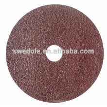 resina sobre resina bond Abrasive Polishing Fibre Disc