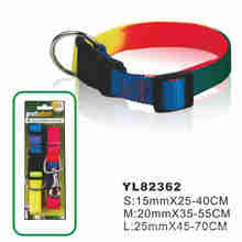 Colorful Waterproof Dog Collar (YL82362)