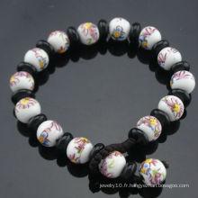 2013 Le plus récent Bracelet de perles de porcelaine de style Vintage SB-0223
