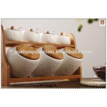 Keramik Tee Kaffee Zucker Salzbehälter