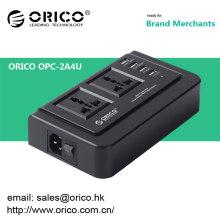 Prise en charge usb multifonction ORICO OPC-2A4U Chargeur USB 4 ports et compatible avec deux prises 3 broches