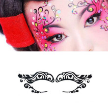 Sexy Lady moda rosto rosto de arte adesivo olho máscara olho adesivos