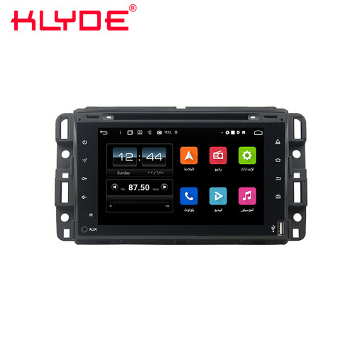 GMC Yukon 2007-2012 Android 10 Autoradio-Navigation