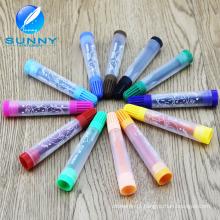 Marcador plástico da cor de água do multi lavável com tinta Não-Tóxica