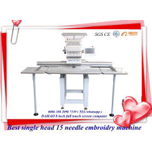 Gran trabajo zona sola cabeza equipo bordado máquina Tajima diseño Similar Ho1501L