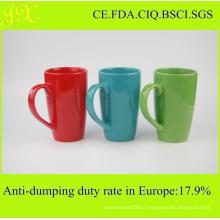 Оптовая экологически чистой глазури керамическая кружка для кофе