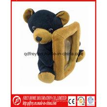Christmas Gift of Soft Plush Teddy Bear Photo Frame