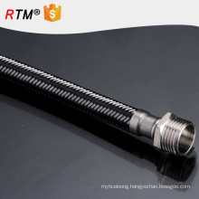 J17stainless steel flexible metal hose for water heater high quality ptfe flexible hose