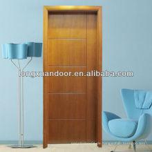 Architektonische bündige Holz Tür Haus Innen Holz Tür Dekoration Holz Tür