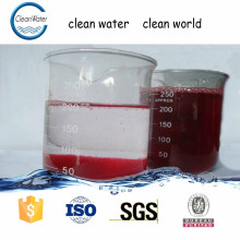 water decoloring agent used in wastewater treatment appliances