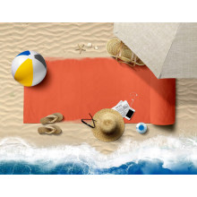 Hot Sale Plain Dyed Pattern and Quick Dry Style Sublimation Beach Towel