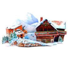 3D горнолыжный курорт головоломки