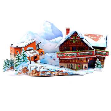 Puzzle 3D Ski Resort
