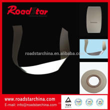High visible reflective artificial PVC foam leather