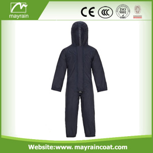 Poliéster Kids Black Blue Red Rain suit
