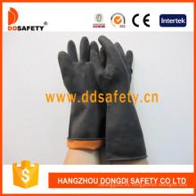 Guantes de látex de doble color para la industria DHL501