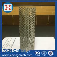 Malla de filtro de metal perforado