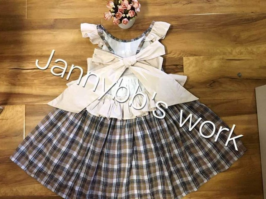 Jannybb Wholesale Boutique Chicas 'Check Panifore