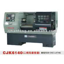 Torno ZHAO SHAN CK-6140 Torno CNC máquina ferramenta bom preço