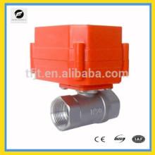 Válvula proporcional de control de actuador DC9-24V para equipos de riego, equipos de agua potable