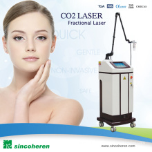 Fractional CO2 Laser Skin Care RF Therapy Rejuvenation de la peau