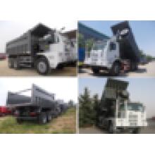 Fornecimento de fábrica Sinotruk HOWO camião basculante da mineração de 70 toneladas, carro de mineração para a venda