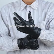 Hommes hiver nappa gants en cuir fabriqués en Chine