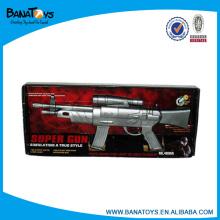Pistola eléctrica de juguete láser con flash y sonido