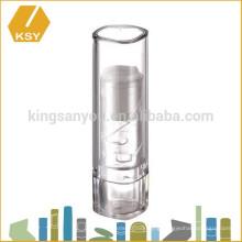 Fashion OEM plastic paper tube for chapstick color change lip balm