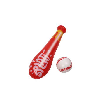 Summer Water Toys Inflatable Baseball Bat with Ball