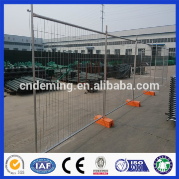 Anping deming galvanized temporary Fence for sale