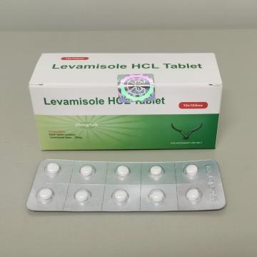 Levamisol HCl tableta veterinaria