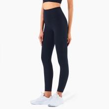 Pantalon de yoga en lycra taille haute