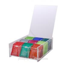 Heißesten Acryl Teebeutel Box für verkaufen