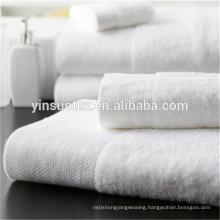 five star hotel pure white china tea towel