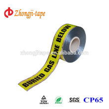 Good tongue tear underground detectable marking tape