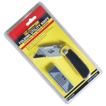Ferramentas de mão Kinfe utilitário dobradura Lock 5 lâminas reposição corte