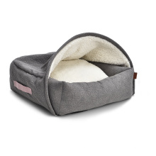Sell Well New Type Cozy Soft Memory Form Dog Wave Knurling Pet Bed