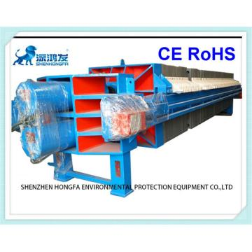 Filter Press Fully Automatic Open Flow Drip Tray