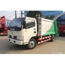Camión de basura compactador de residuos