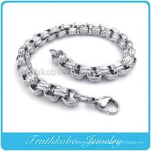 TKB-RN0033 Image de NEVER FADE 316L Evergleam En Acier Inoxydable Chunky Chaînes Bracelets Pour Hommes Bracelets