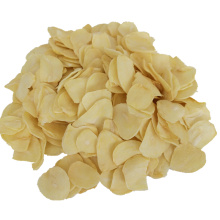 White Color Dried Garlic Flakes Without Root