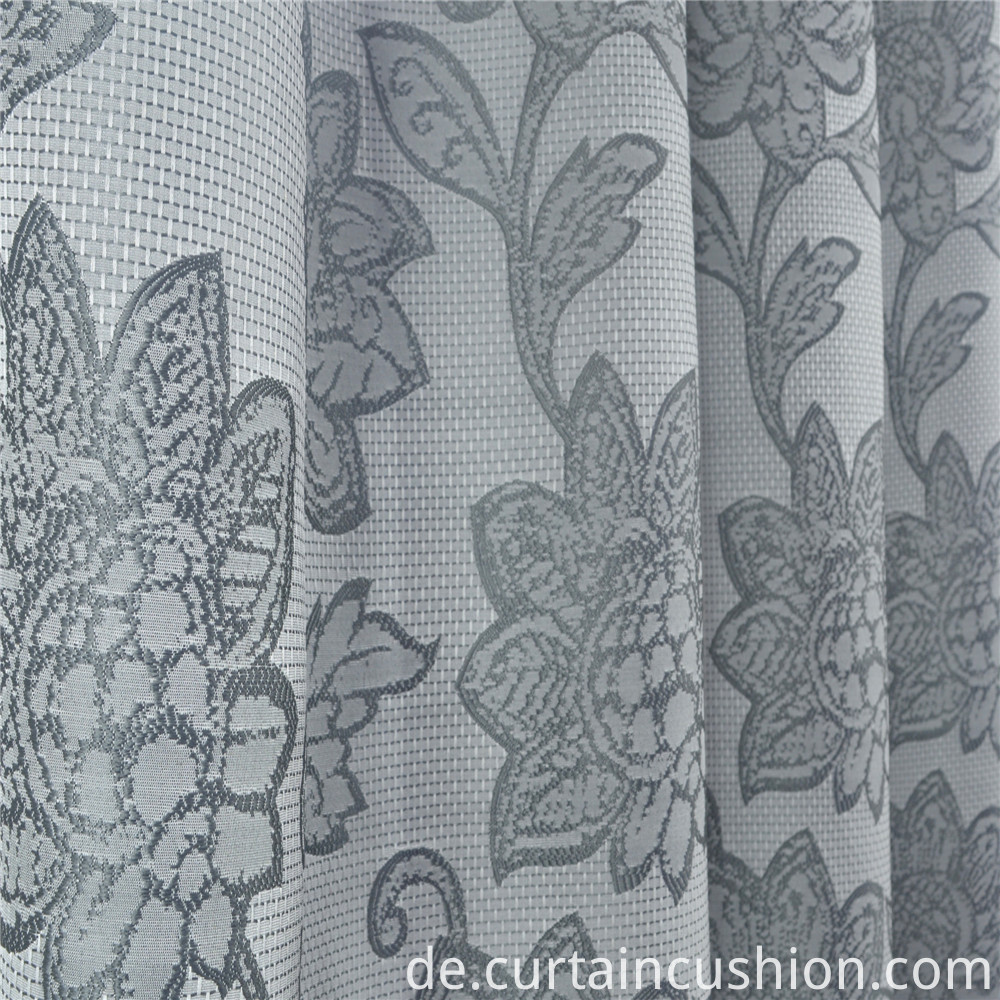 High Quality Jacquard Grommet Curtains